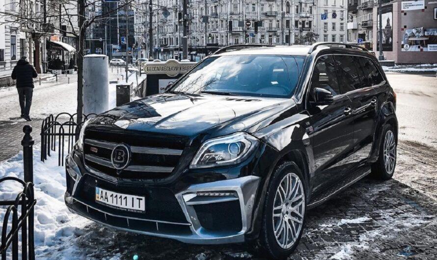 В Украине засветился сверхмощный Mercedes Brabus