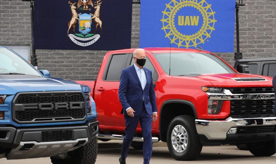 Новый президент США: гараж Джо Байдена (фото)