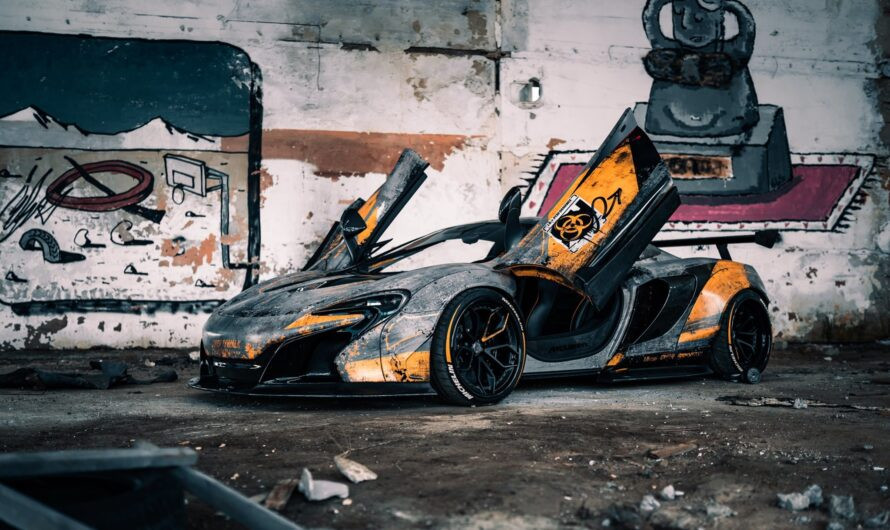 В 21 год купил McLaren 650s — история успеха киевлянина