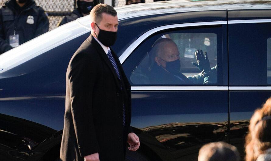 Появились фото автомобиля нового президента США Джо Байдена