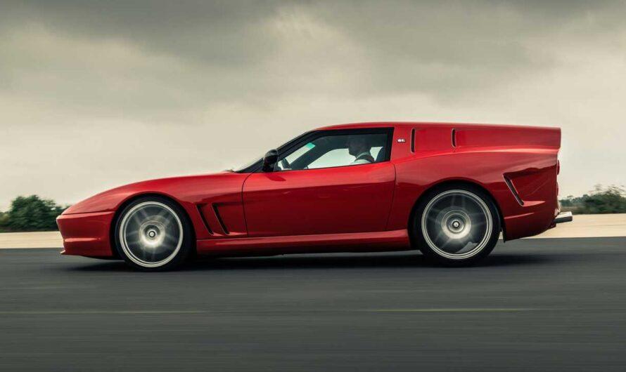 Фото единственного в своем роде универсала Ferrari Breadvan Hommage