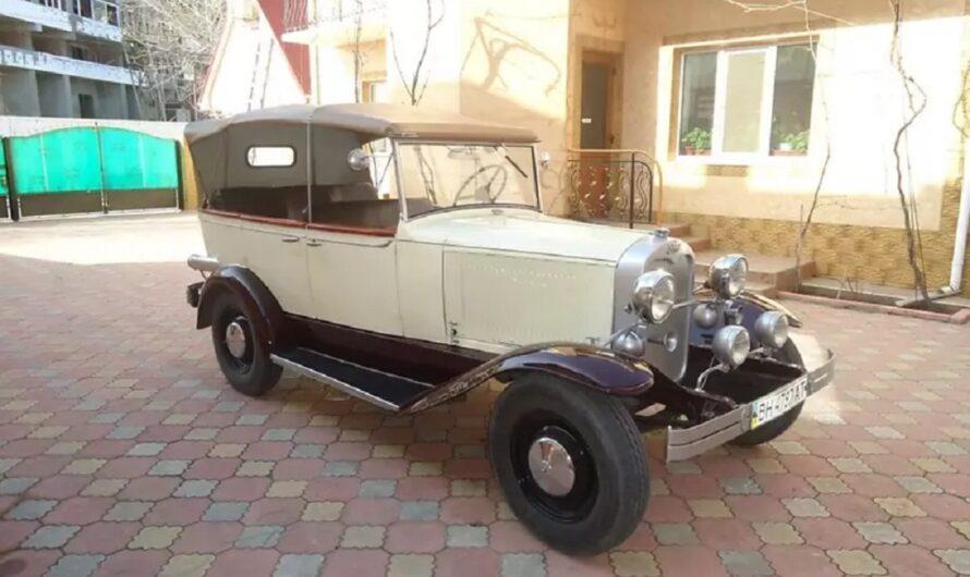 В Украине обнаружили редкий 90-летний кабриолет Ford