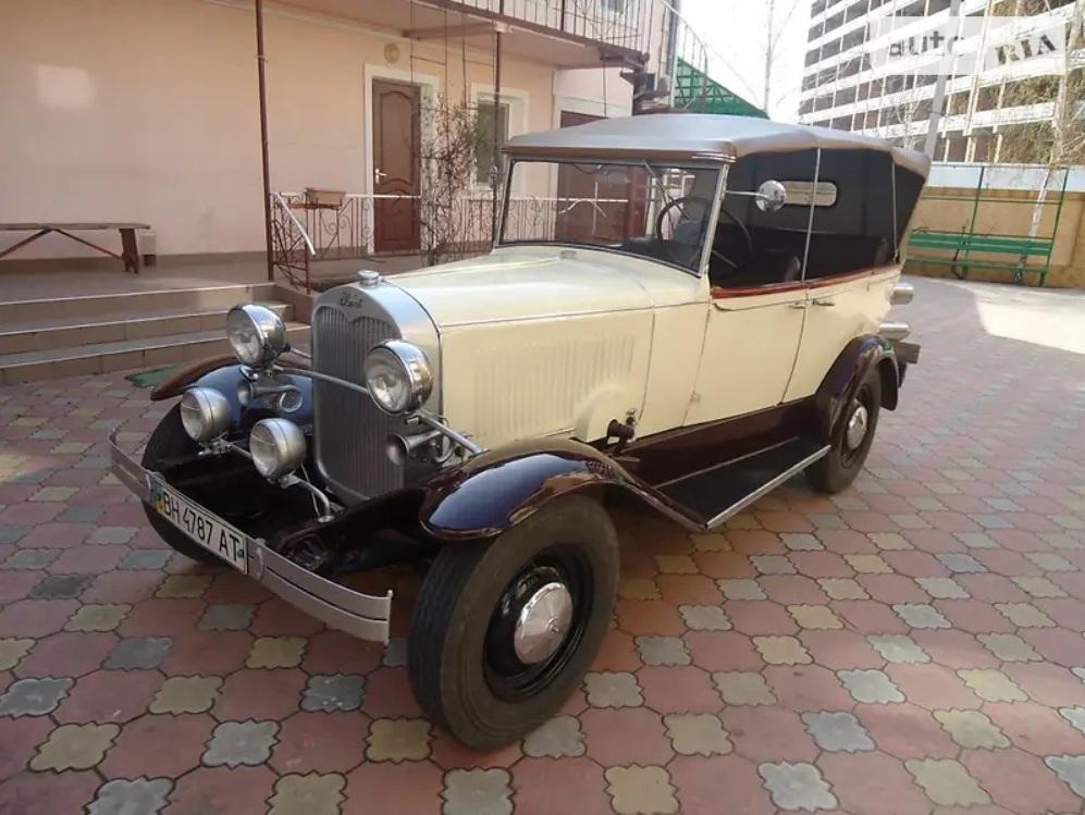 В Украине продают редкий 90-летний Ford по цене Фабии