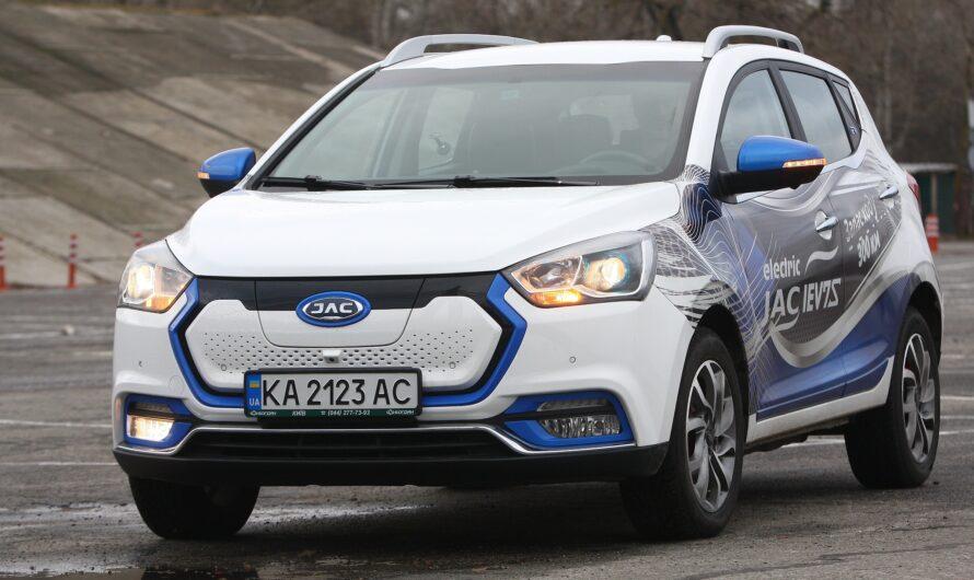 Тест-драйв самого доступного электромобиля в Украине JAC iEV7S