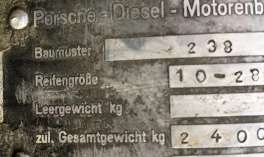 В Украине продают очень необычный 60-летний Porsche