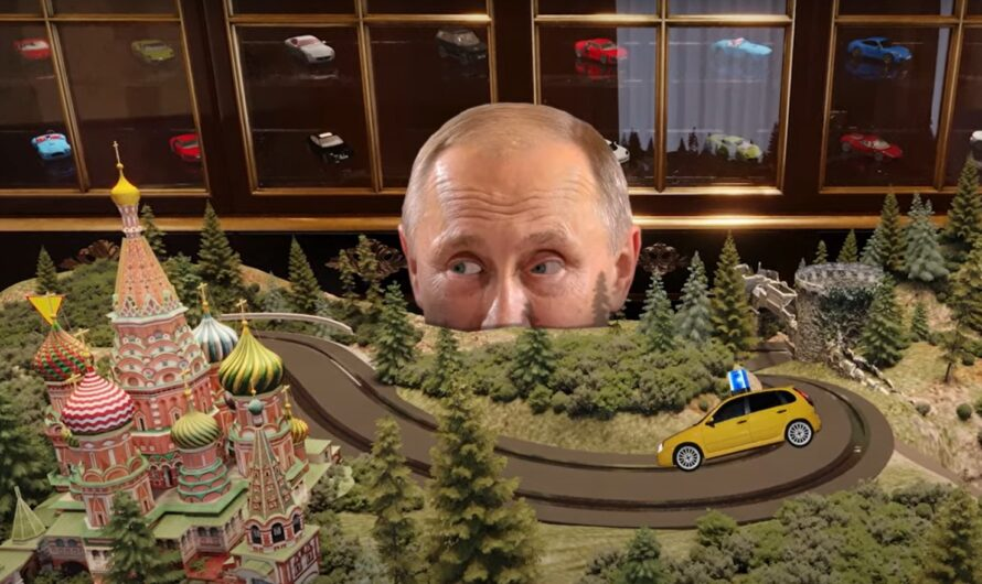 Как выглядит комната с игрушечными машинками во дворце Путина (фото)