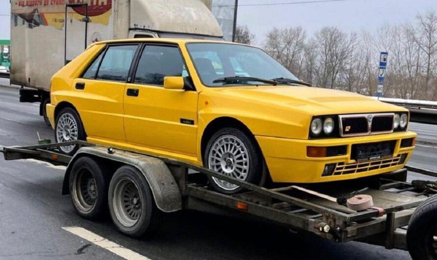 В Украине засветился легендарный итальянский спорткар