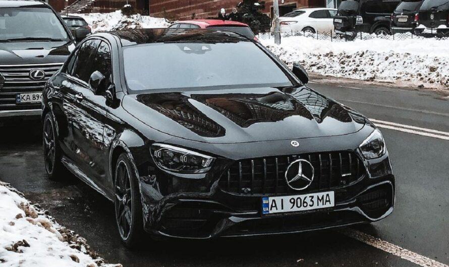 В Украине появился новейший заряженный Mercedes-AMG
