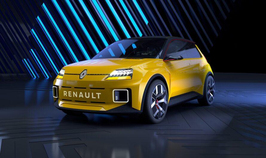 Renault показала электромобиль с подмигивающими фарами (видео)