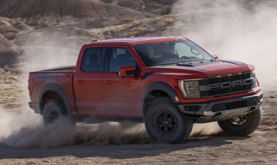 Самый крутой пикап Ford рассекречен на официальных фото и видео