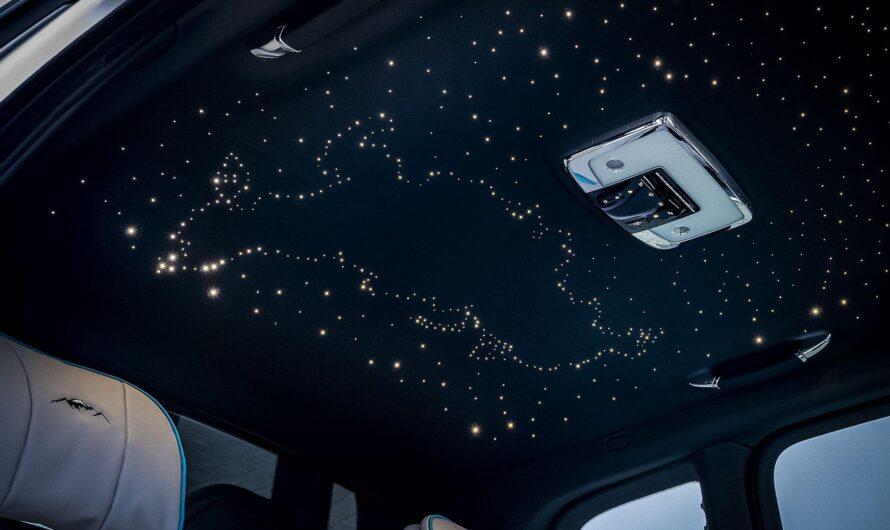 Особые Роллс-Ройсы получили звездное небо в виде карты РФ. С Крымом или без?