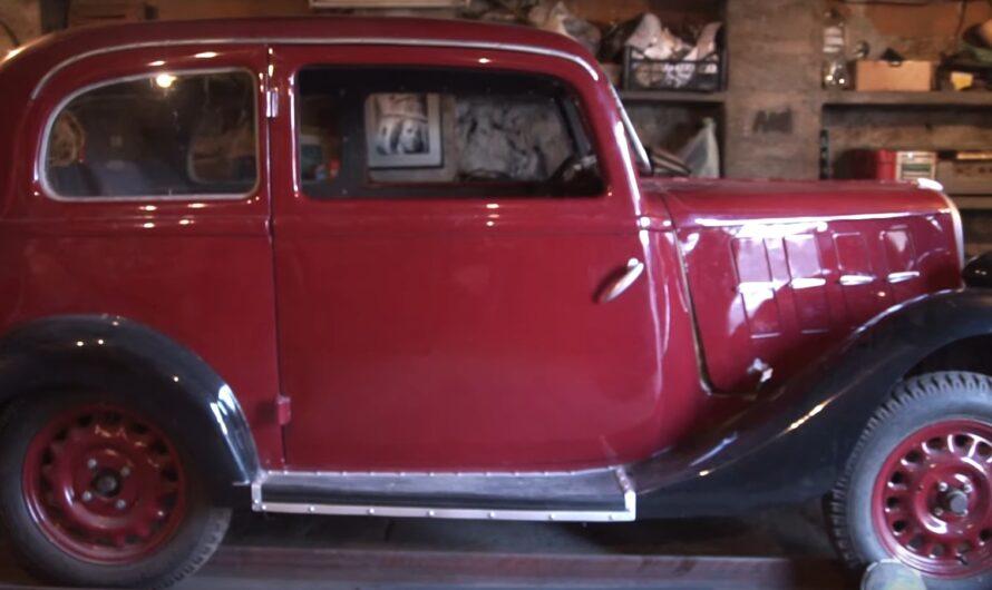 Украинец вернул к жизни раритетный 90-летний итальянский авто (видео)