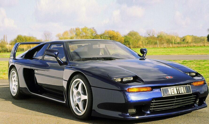 Что общего у суперкара Venturi 400 GT и пяти дешевых авто