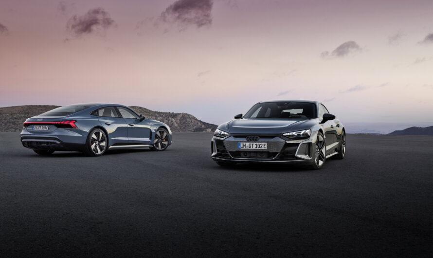 Новый электромобиль Audi оказался перелицованным Porsche Taycan