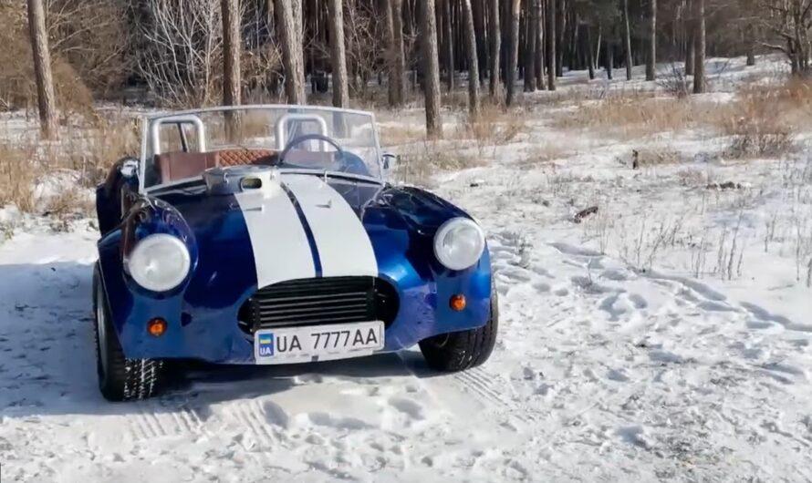 Украинец своими руками построил впечатляющий спорткар (видео)