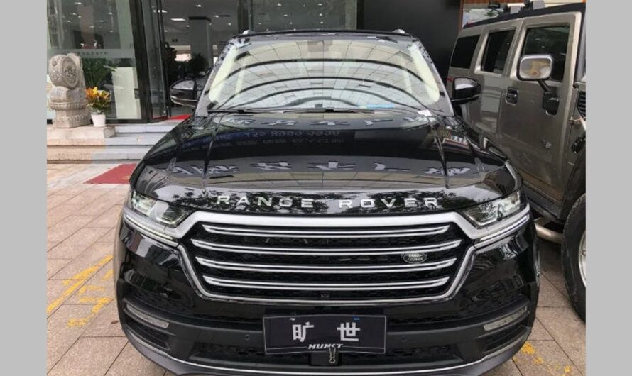 Hunkt Canticie – клон Range Rover теперь один в один