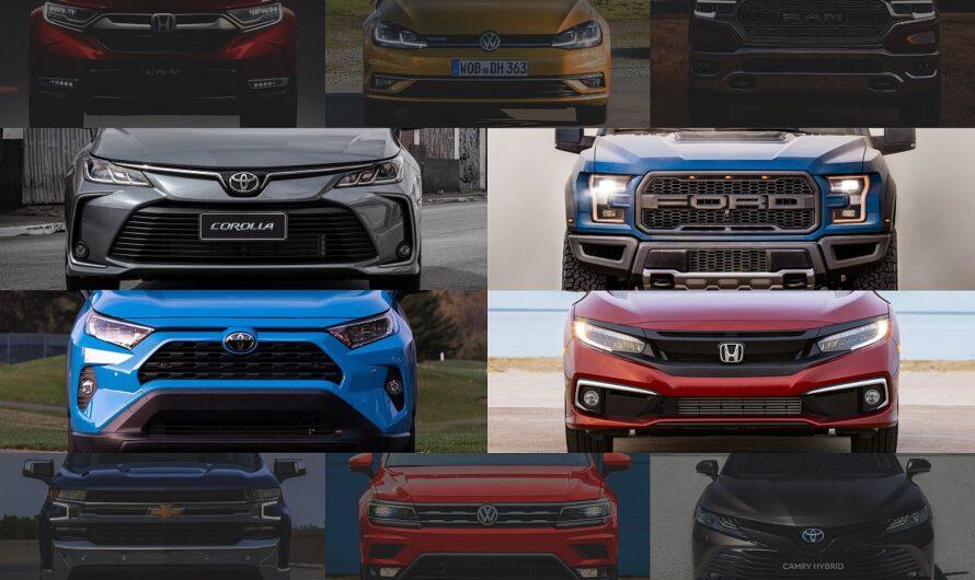 Свежий рейтинг самых продаваемых автомобилей в мире