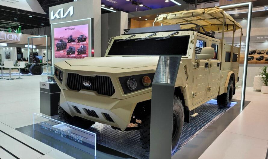 Kia KLTV Cargo Truck – корейский ответ американскому Хаммеру