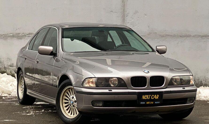 В Украине обнаружена идеальная BMW 5 E39