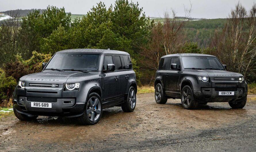 Конкурента Гелендвагена от Land Rover назвали в честь Карпат