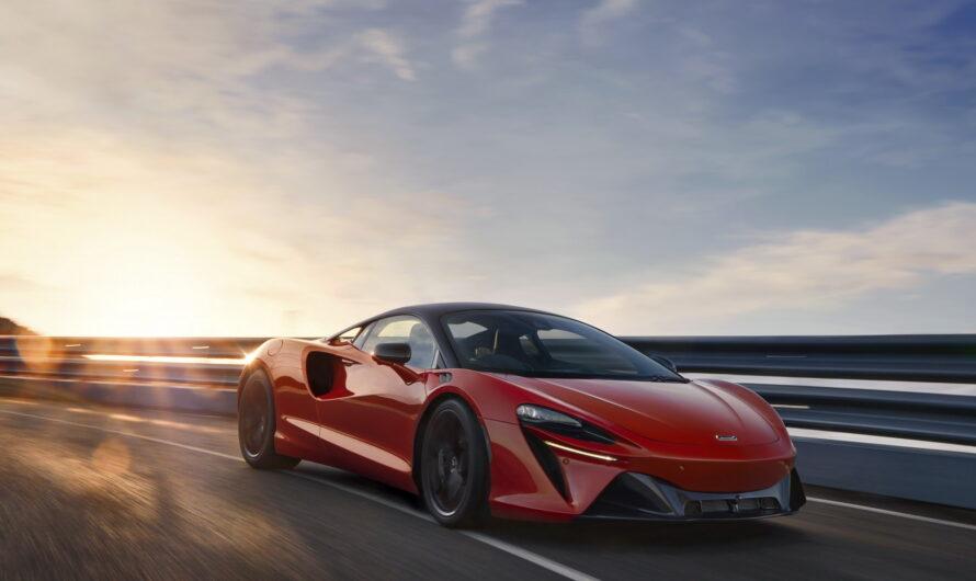 McLaren представил новый суперкар без задней передачи