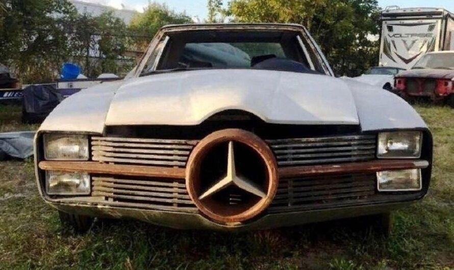 Обнаружен самый жуткий Mercedes в Украине