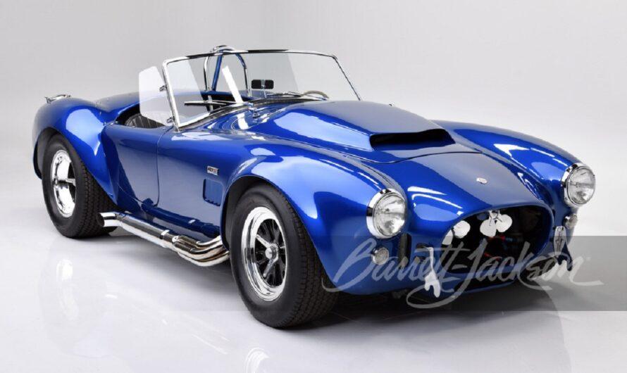 Самый крутой американский авто 60-х уйдет с молотка по цене трех Bugatti