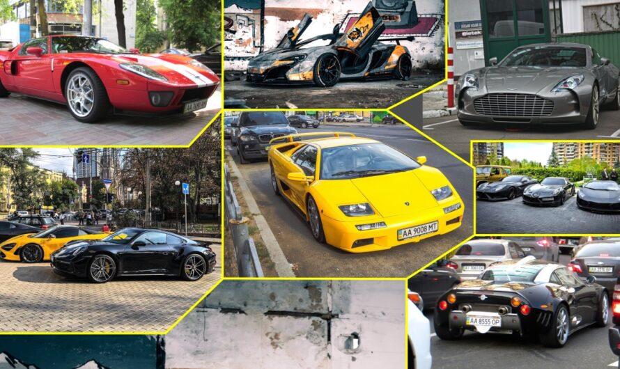 Такие есть не у каждого шейха! Самые дорогие и редкие автомобили в истории Украины