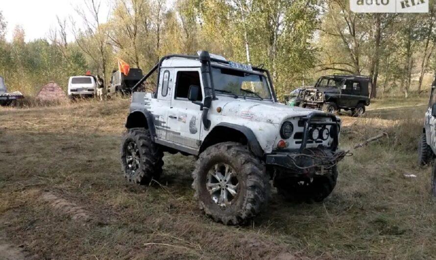 Украинец скрестил старый УАЗ и Land Rover
