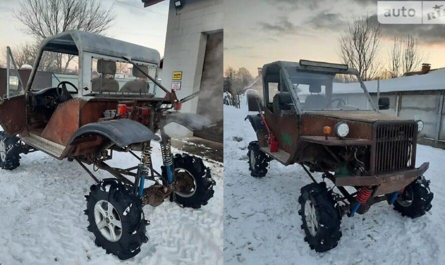 Украинец продает жуткий самодельный вездеход