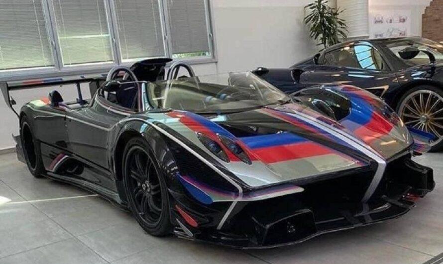 Эксклюзивное фото самого дорогого суперкара в мире