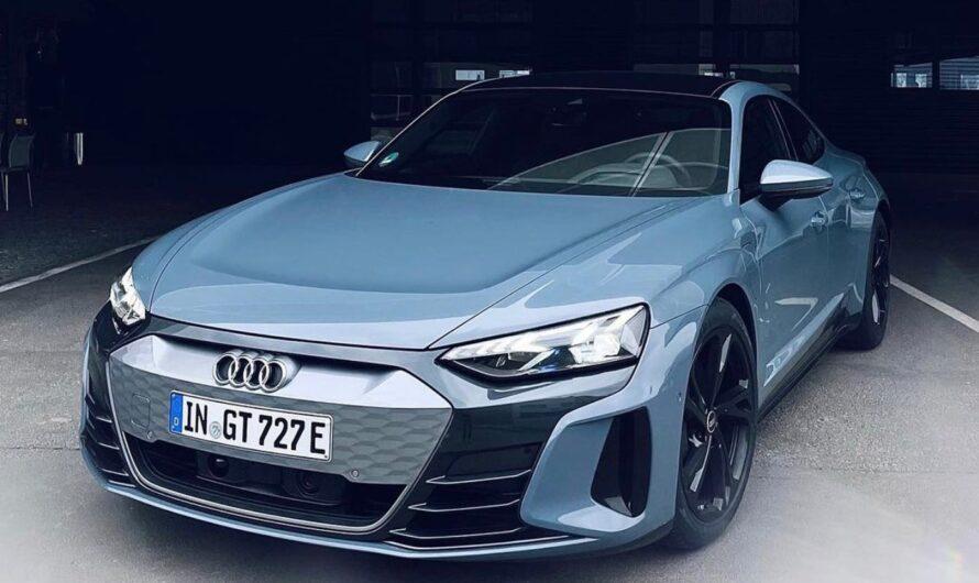 Новый электрокар Audi появился в Украине всего через месяц после премьеры