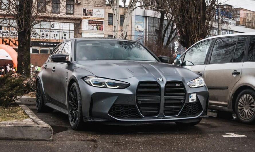 В Украине зарегистрировали самую быструю и самую спорную BMW M3 в истории