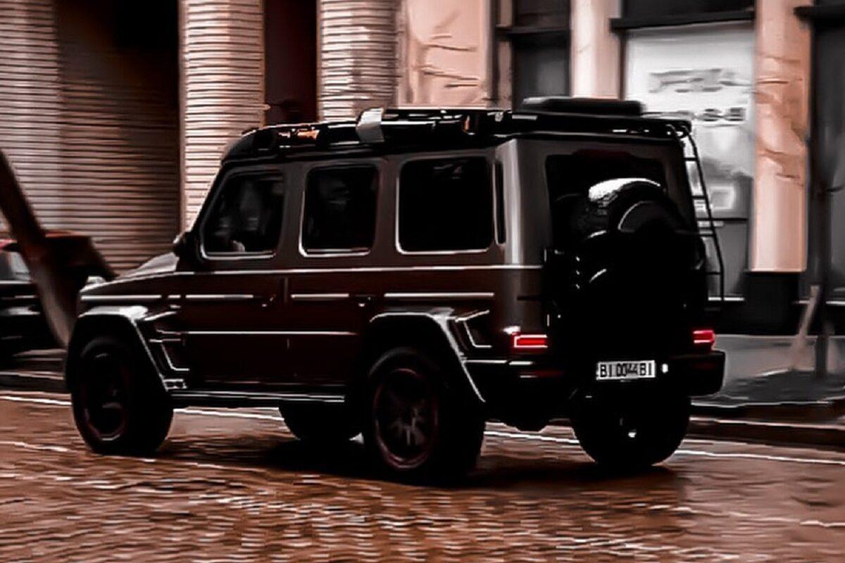 В Киеве зафиксировали уникальный Mercedes — Brabus D40 (ФОТО)