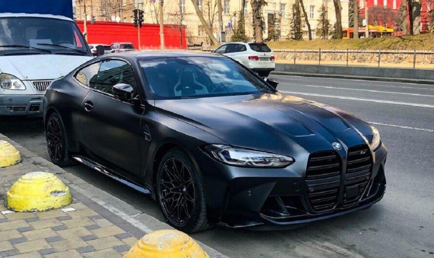 В Украине появилось новейшее купе BMW M4