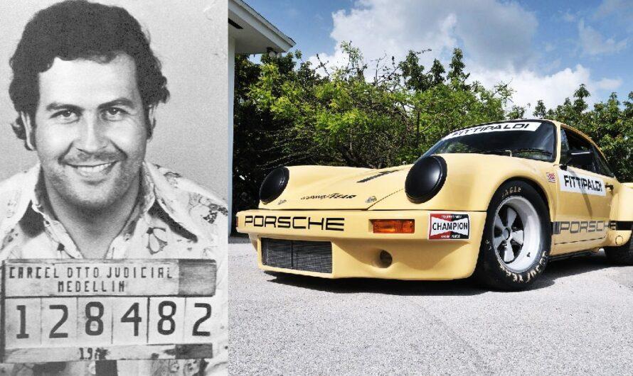 Старый Porsche Пабло Эскобара хотят продать за $2 миллиона