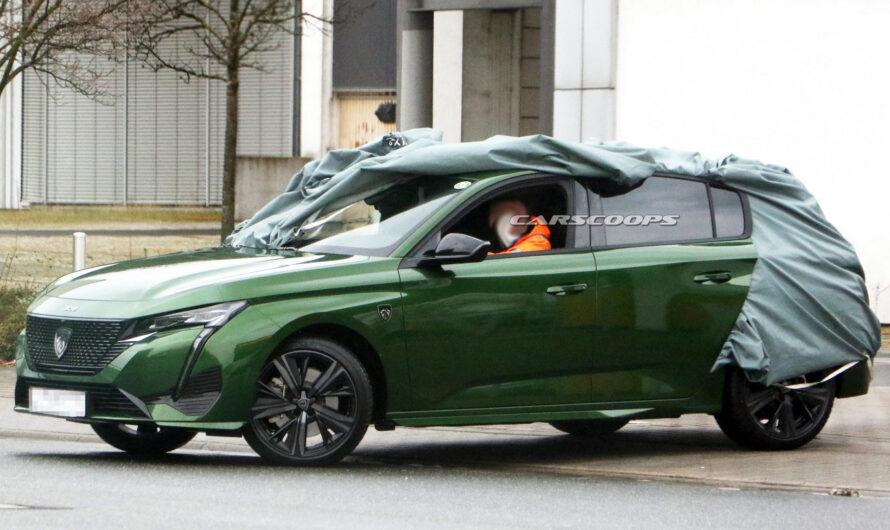 Новый Peugeot 308 2022 получился самым злым в классе (фото)