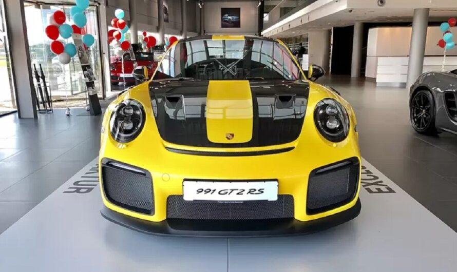 В Украине продают один из 1000 Porsche за 17 миллионов гривен