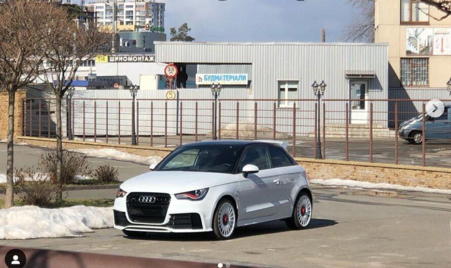 В Украине заметили одну из 333-х уникальных Audi A1 Quattro
