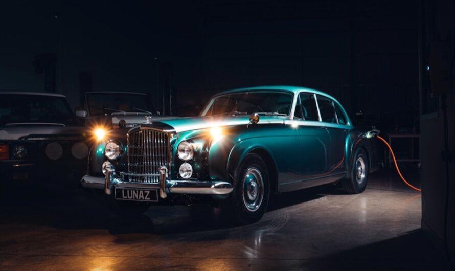 В Британии предложили переделку классических Бентли в электромобили
