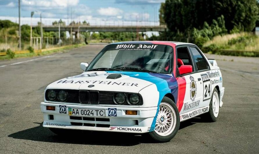 В Украине продают особую BMW M3 90-х за 1,7 миллиона гривен