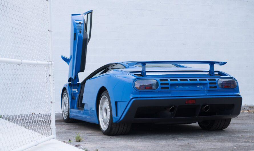 Что общего у Bugatti EB110 и Opel Vectra B (фото)