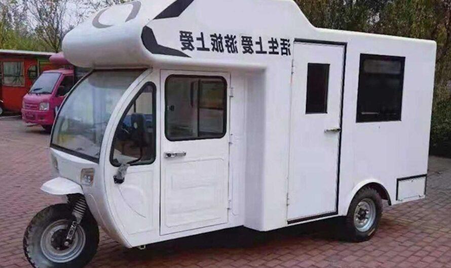 В Китае создали электрический дом на колесах по цене б/у Ланоса