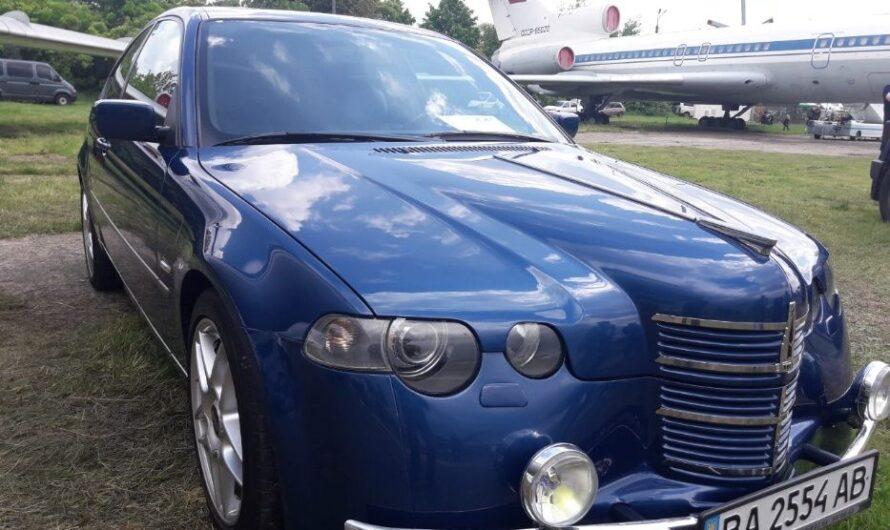 BMW в облике старого Москвича выставили на продажу в Украине