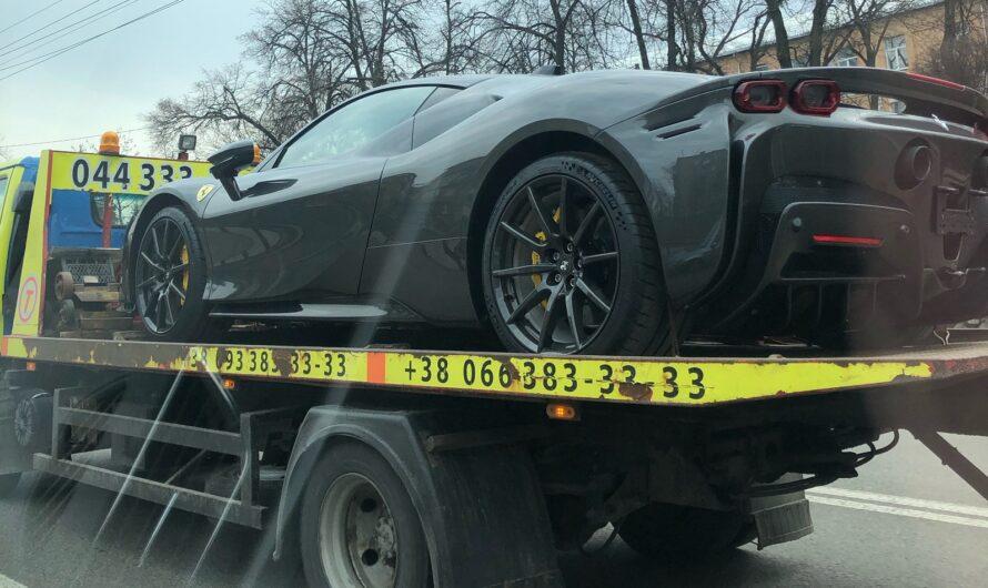 В Украину привезли эксклюзивный 1000-сильный суперкар Ferrari SF90 Stradale