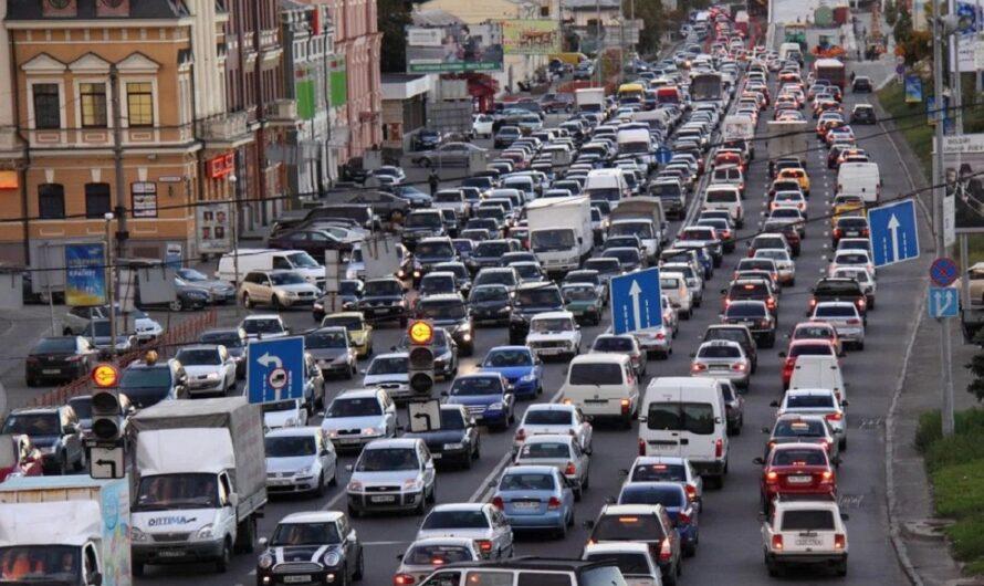 Киев приблизился к Европе по количеству авто на душу населения