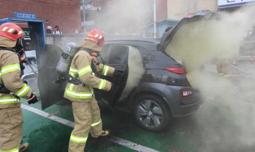 Стало известно почему электромобили Hyundai Kona массово горят