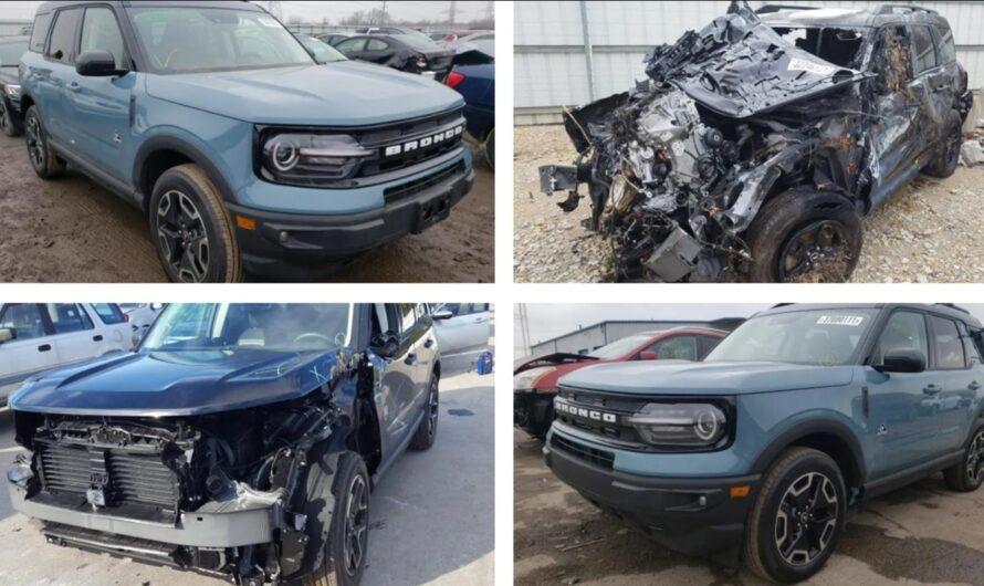 Новый Ford Bronco уже можно купить на аукционах США