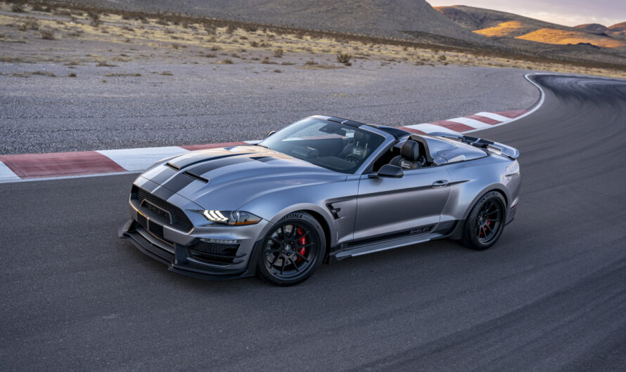 Представлен самый мощный и самый быстрый Ford Mustang