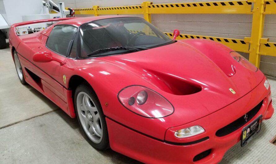 Угнанный суперкар Ferrari всплыл через 20 лет и вызвал громкий скандал
